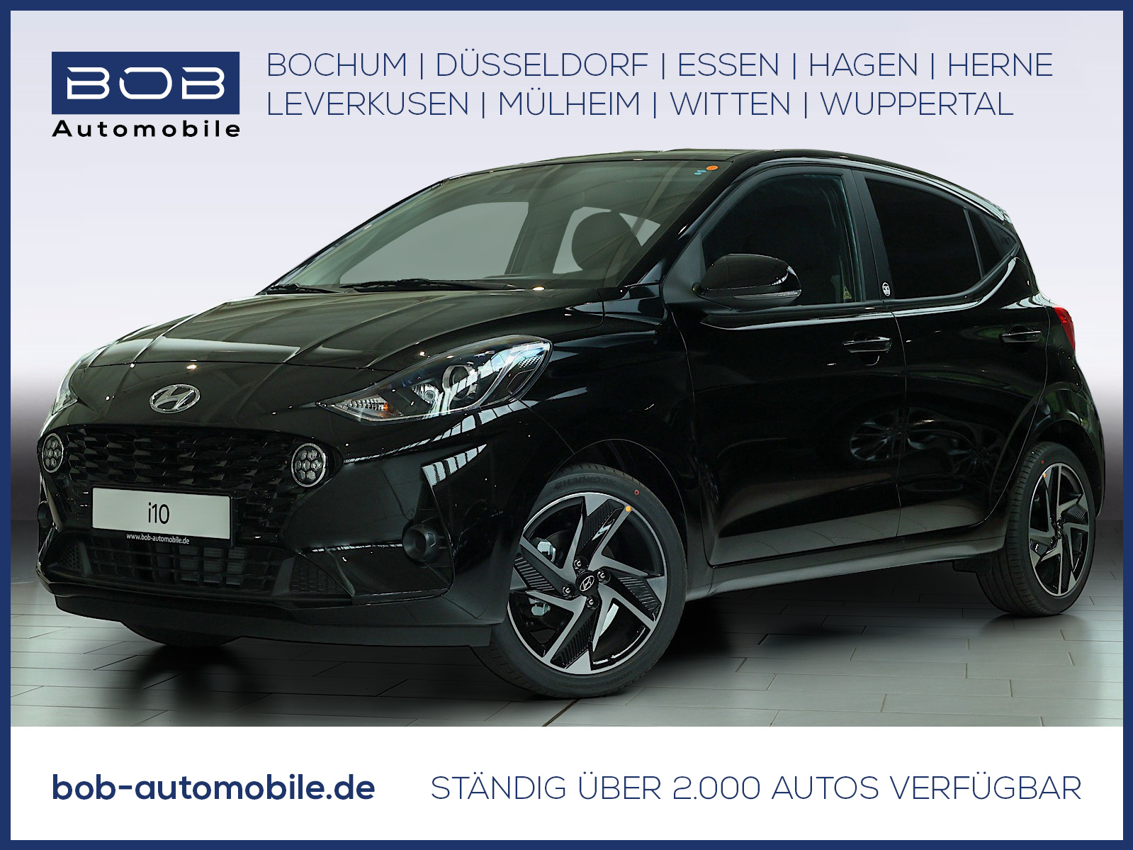 Hyundai i10 1.0 Edition 30+ NAVI SHZ PDC KLIMA BT, Jahr 2021, Benzin