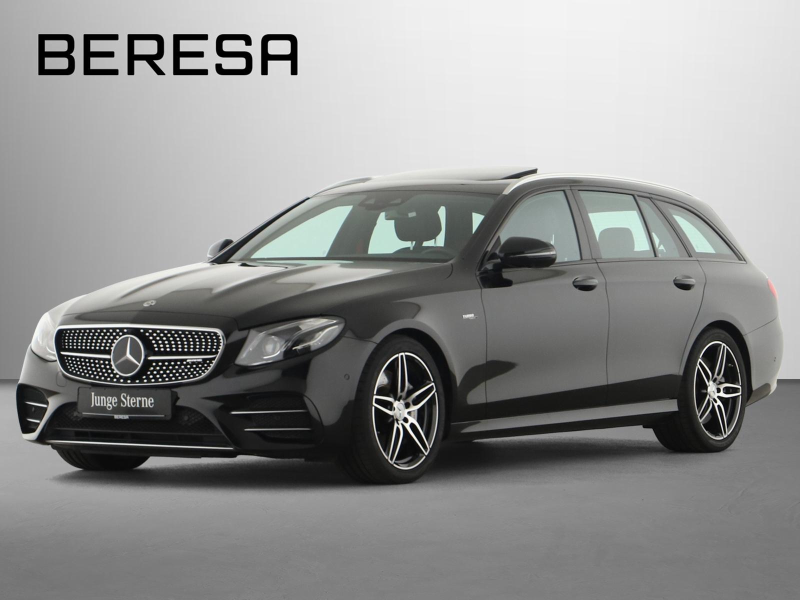 Mercedes-Benz E 53 AMG 4M+ T Distronic Wide Schiebedach 360°, Jahr 2019, Benzin