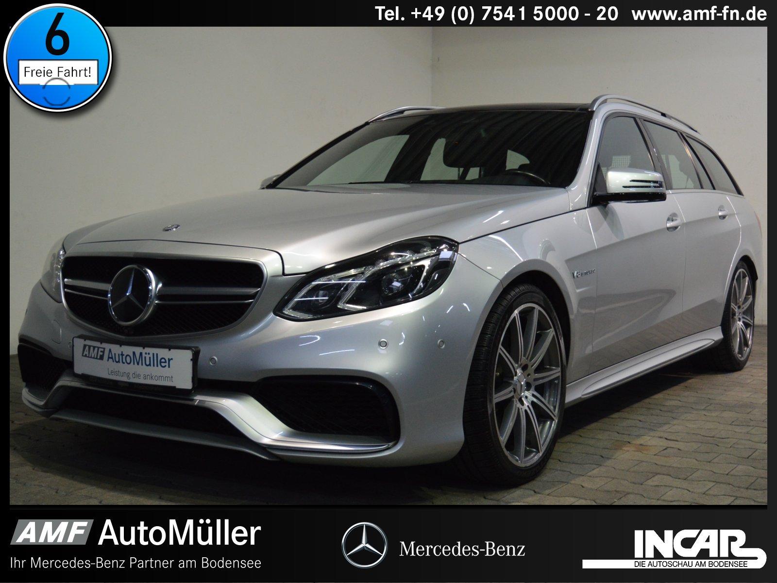 Mercedes-Benz E 63 AMG T 4M DIRSTRO+360°+ILS+MULTIK.+DRIVERSP., Jahr 2013, Benzin