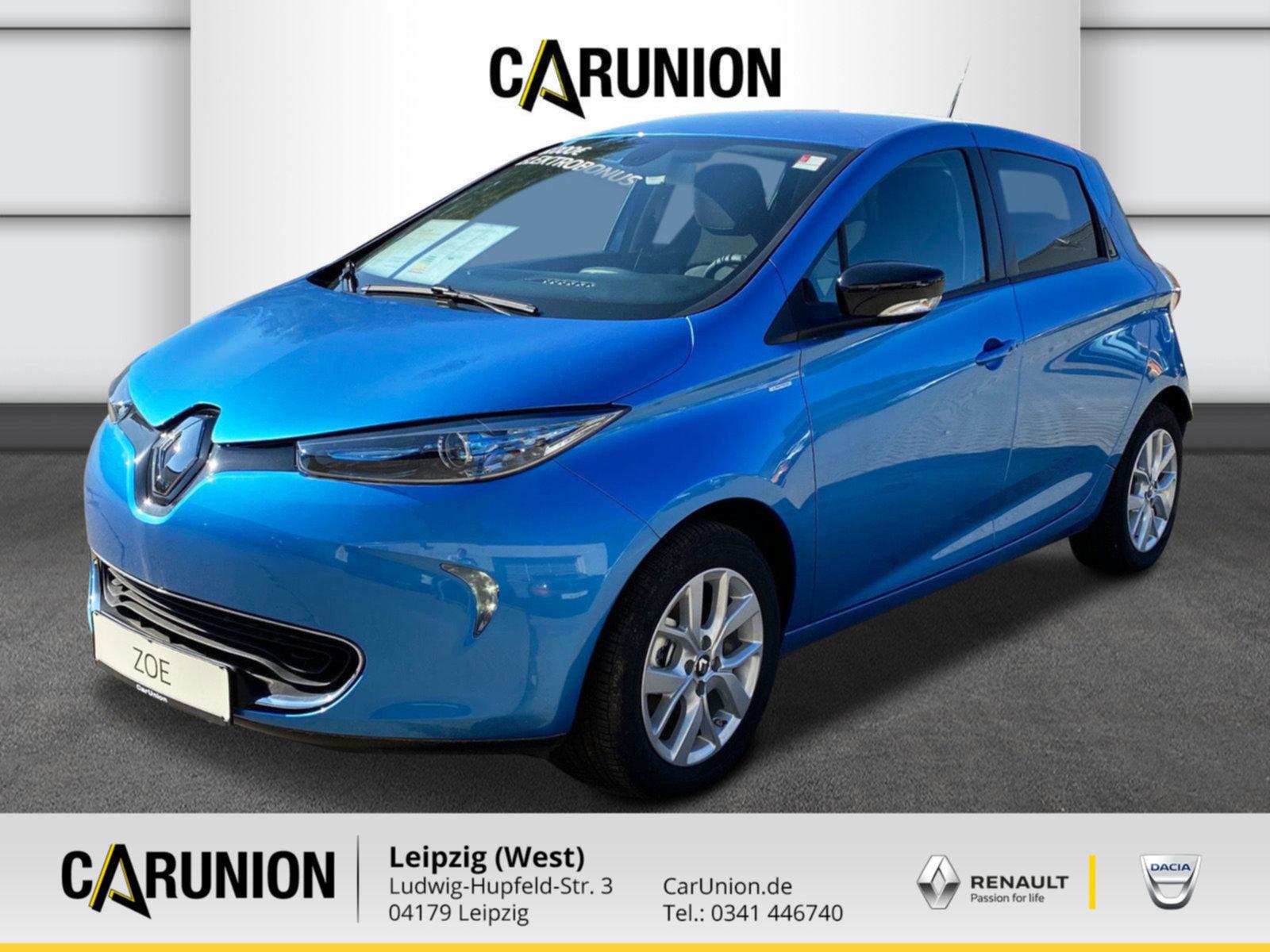 Renault ZOE LIFE Limited Batteriemiete 41kWh, Jahr 2020, Elektro