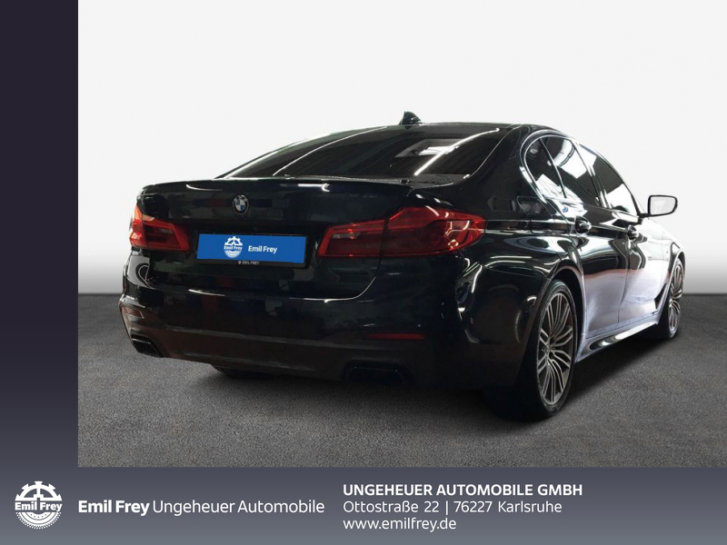 BMW M550i xDrive Limousine Head-Up LED WLAN Shz, Jahr 2017, Benzin