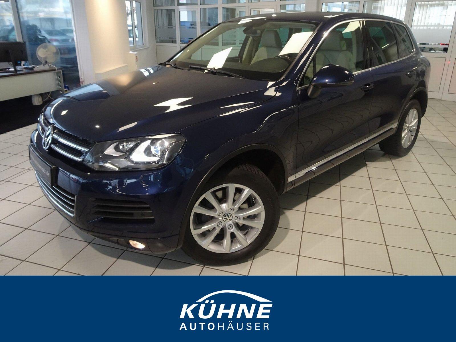 Volkswagen Touareg 3.0 RNS850+Bi-Xenon+AHK+8xALU+Standheiz, Jahr 2012, Diesel