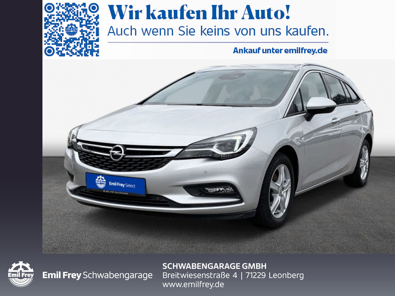 Opel Astra 1.6 ST Innovation *LED *NAVI *STANDHEIZUNG, Jahr 2017, Diesel
