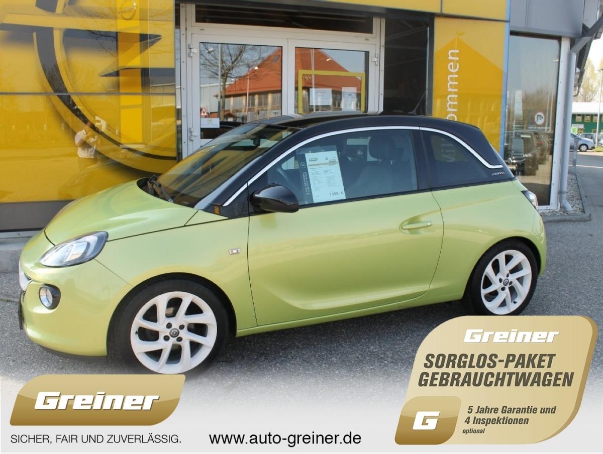 Opel Adam 1.4 Slam KLIMAAUTOMATIK|USB|BLUETOOTH|ALU, Jahr 2013, Benzin