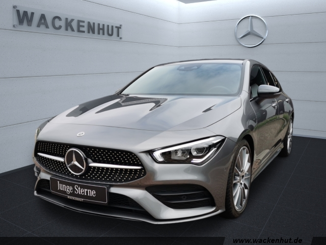 Mercedes-Benz CLA 250 Shooting Brake AMG Night LED Ambiente, Jahr 2020, Benzin