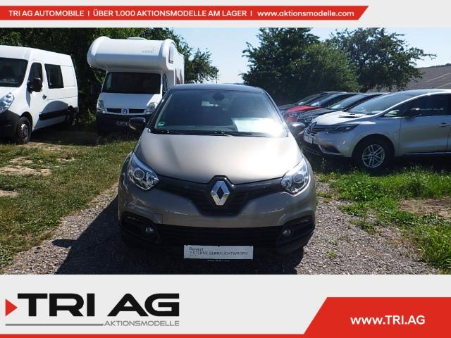 Renault Captur Luxe TCe 90 eco Navi Keyless Kurvenlicht Rückfahrkam. Temp LED-hinten LED-Tagfahrlicht, Jahr 2014, Benzin