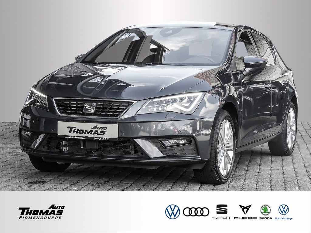 "Seat Leon ""Xcellence"" 1.5 TSI DSG LED+NAVI+PDC+BEATS, Jahr 2020, petrol"