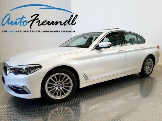BMW 540i Luxury Line *Dr.As.Plus*4xSH*Standh.*, Jahr 2018, petrol