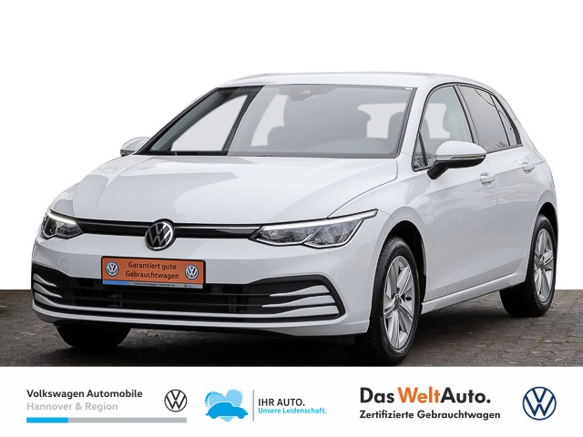 Volkswagen Golf VIII 1.5 TSI Life ACC LED Navi Pro APP PDC, Jahr 2020, Benzin