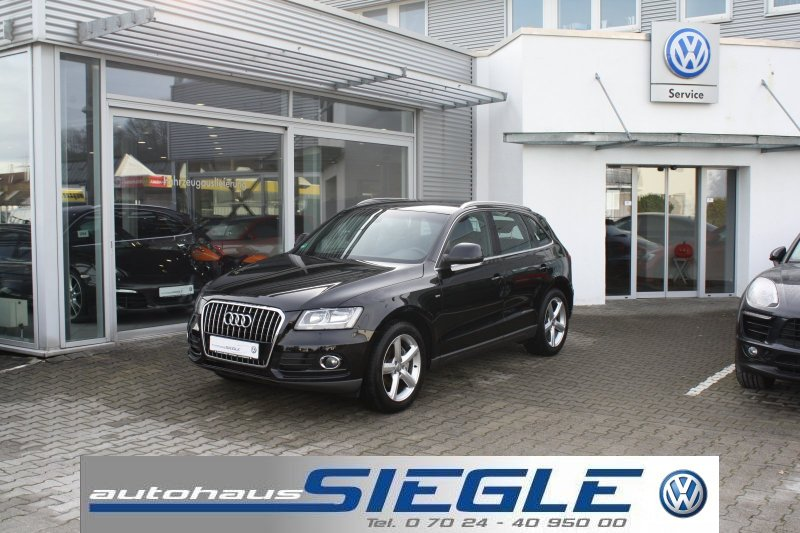 Audi Q5 2.0 TDI S-LINE*AHK*Keyless-Entry*Leder*19Zoll, Jahr 2013, diesel