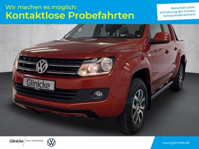 Volkswagen Amarok 4 Motion DK Canyon Automatik AHK Navi RFK Roll Cover PDC vo/hi, Jahr 2015, Diesel