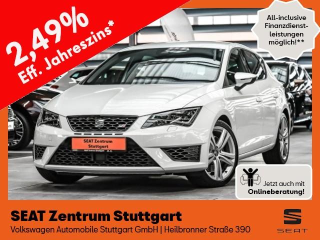Seat Leon 2.0 TSI Cupra 265 *LED* *ACC* *Fahrassistenz-Paket*, Jahr 2016, Benzin