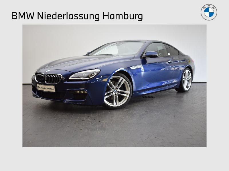 BMW 640d Coupé Sportpaket Head-Up HK HiFi DAB LED, Jahr 2017, Diesel