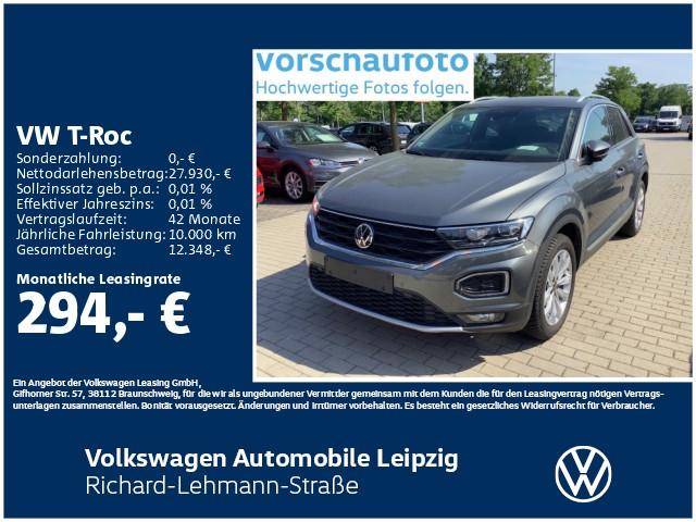 Volkswagen T-Roc Sport 1.5 TSI ACT *LED*AHK*SHZ*, Jahr 2020, Benzin