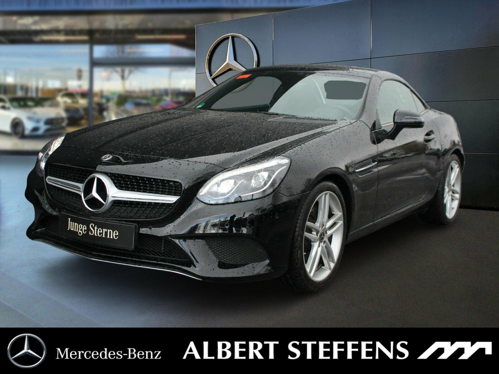 Mercedes-Benz SLC 180 AMG Airscarf+NAVI+Sitzheitung+Tempomat+, Jahr 2017, Benzin