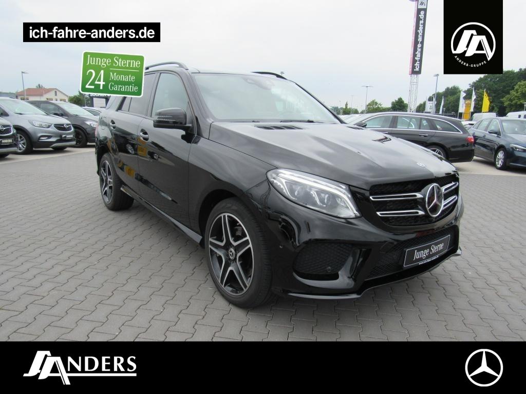 Mercedes-Benz GLE 350 d 4M AMG+Sitkl+Comand+Distr+AHK+Pano+360, Jahr 2018, Diesel