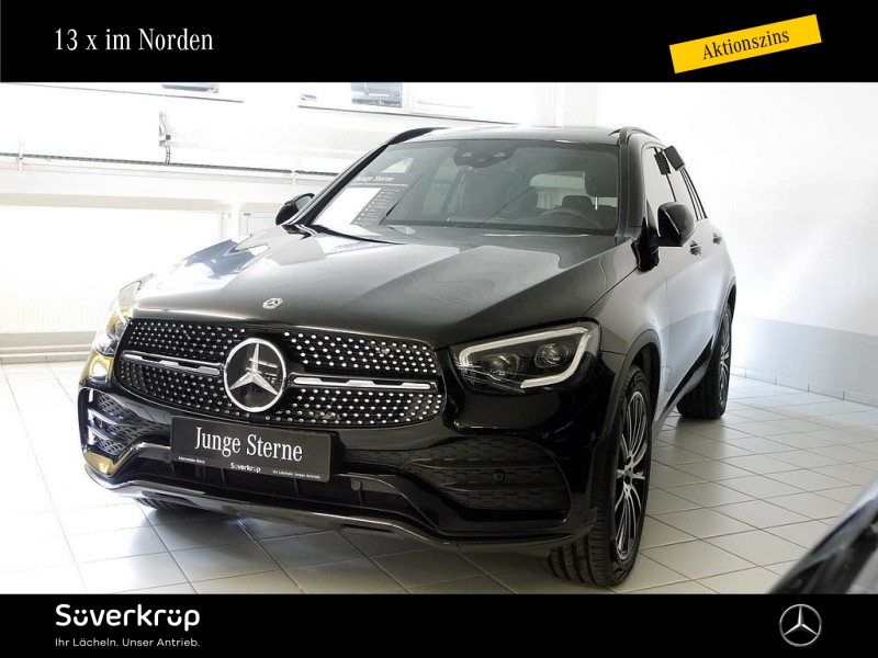 Mercedes-Benz GLC 400 d 4M AMG Line PANO+ AHK+ DISTRONIC+LEDER, Jahr 2020, Diesel