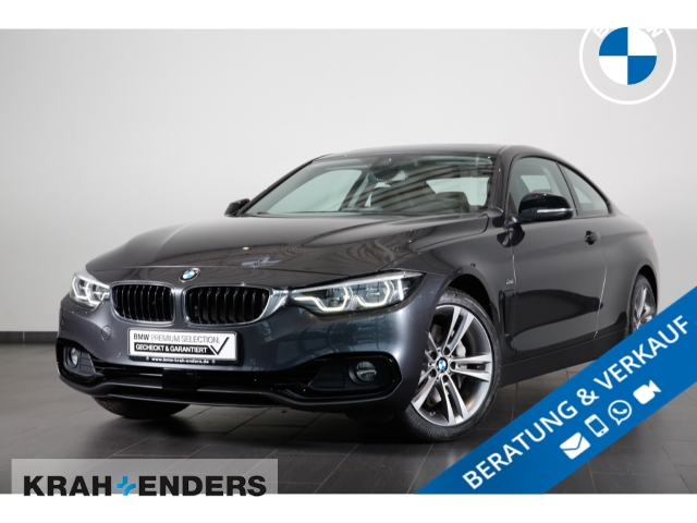 BMW 440 i xDrive Sport Line+ACC+HUD+SD - UPE 76.630,-, Jahr 2017, Benzin