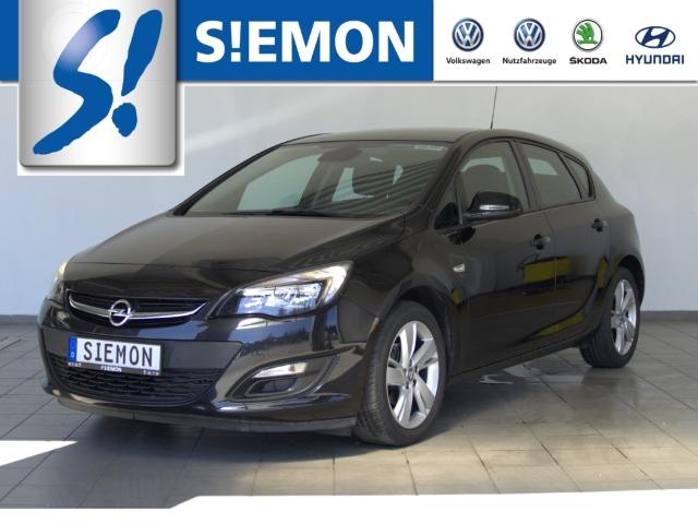 Opel Astra 1.4 Turbo Style KLIMA SHZ PDC, Jahr 2015, Benzin