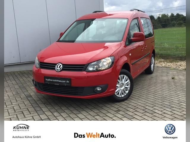 Volkswagen Caddy 1.2 TSI Team Clima SHZ Tel., Jahr 2014, Benzin