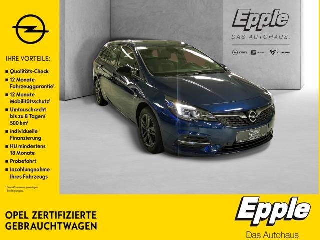Opel Astra K Sports Tourer 2020 Start Stop 1.4 Turbo EU6d LED Navi Rückfahrkam. PDCv+h LED-Tagfahrlicht, Jahr 2020, Benzin
