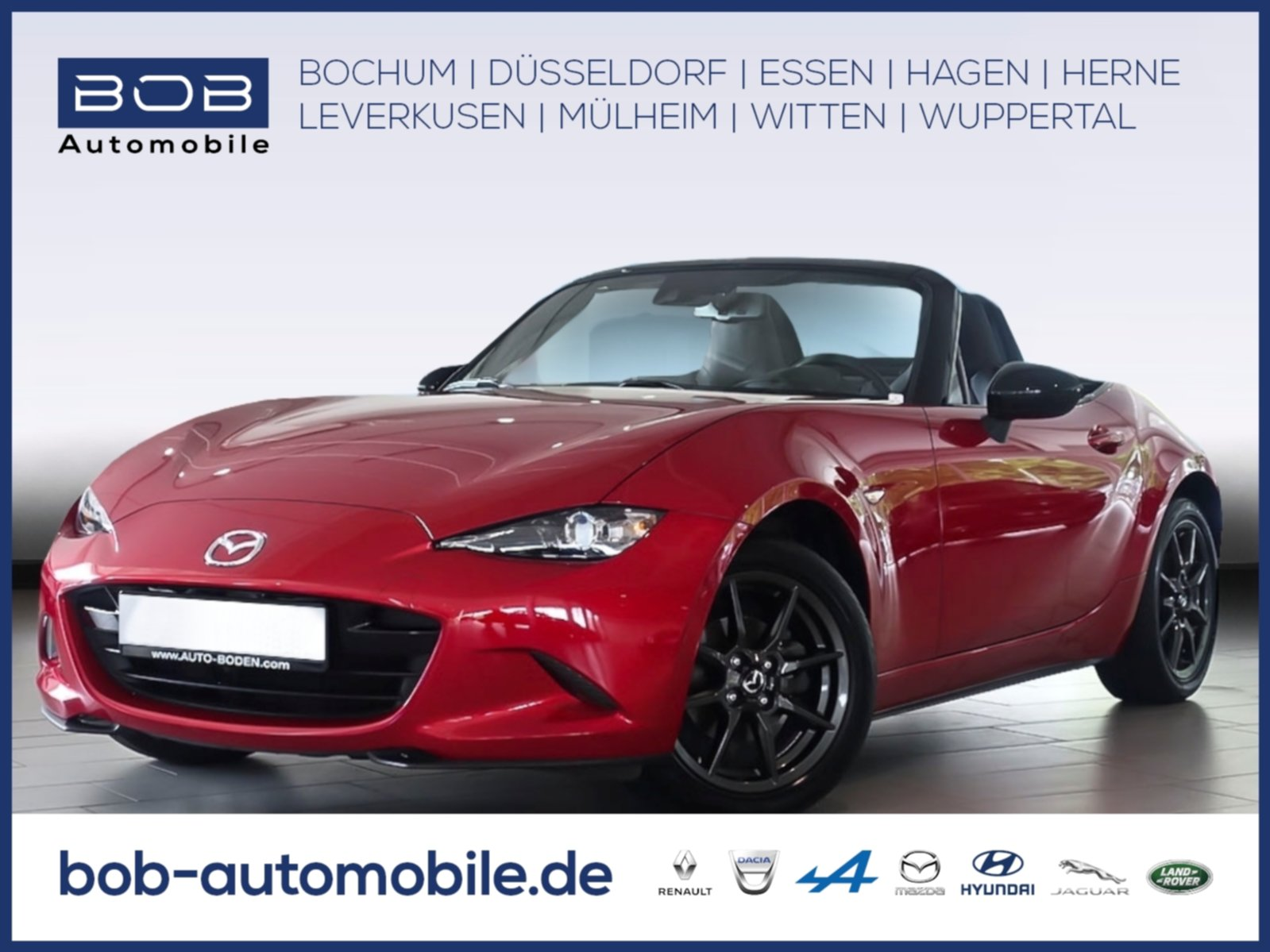 Mazda MX-5 Roadster Exclusive-Line LED NAVI LEDER, Jahr 2017, Benzin