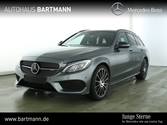 Mercedes-Benz C43 T 4M +COMAND+SPORTAUSPUFF LED+360°+DISTRONIC, Jahr 2018, Benzin