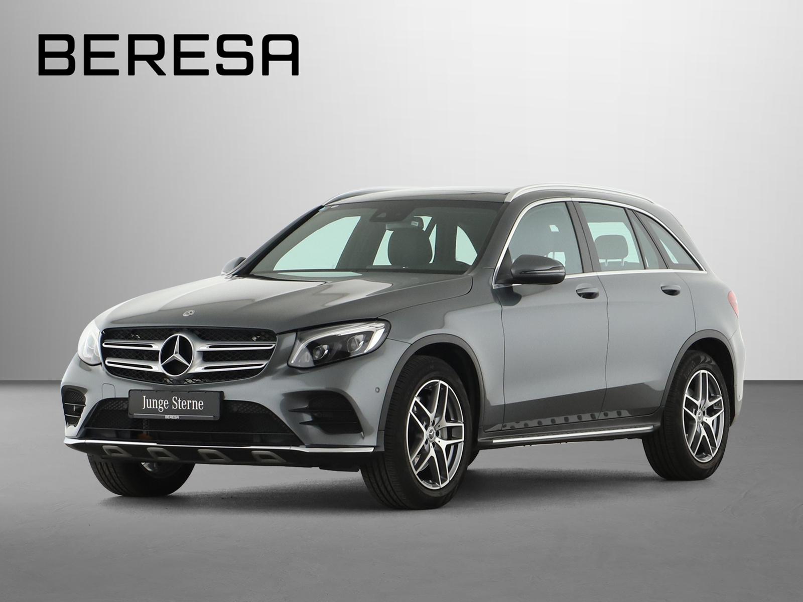 Mercedes-Benz GLC 300 4M AMG Pano.-Dach LED AHK Kamera Navi, Jahr 2018, Benzin