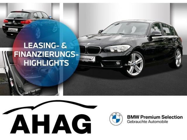 BMW 120i Advantage HIFI PDC Sitzhzg. Vorn NSW, Jahr 2017, Benzin