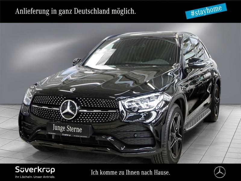 Mercedes-Benz GLC 400 d 4M AMG MBUX+LED+Panorama+Burmester+SHZ, Jahr 2020, Diesel