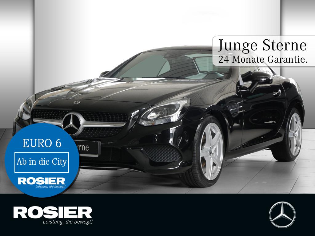 Mercedes-Benz SLC 180, Jahr 2017, petrol