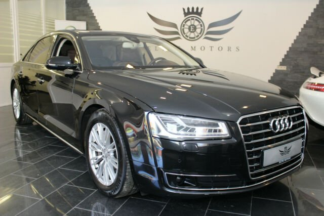 Audi A8 L 3.0 TDI QUATTRO*MATRIX-LED*ACC*SPUR*DAB*EU6, Jahr 2015, Diesel