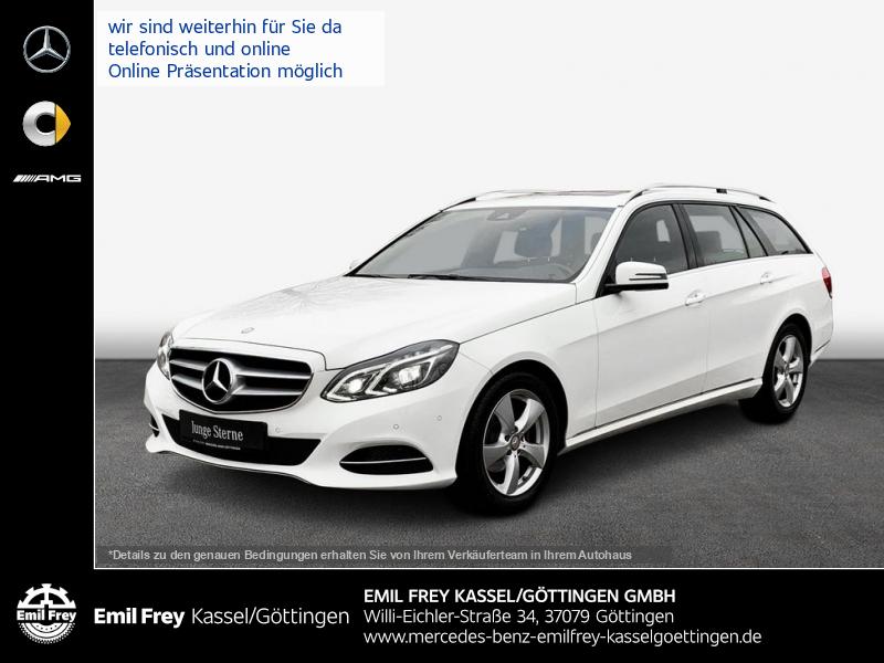 Mercedes-Benz E 200 T d BT Avantgarde+EU6+ILS+Schbd+ParkAss, Jahr 2015, Diesel