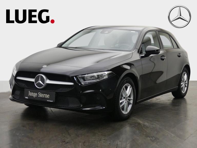 Mercedes-Benz A 180 d MBUX+Navi+Sthzg+SHZ+Spur+akParkAssistent, Jahr 2019, Diesel