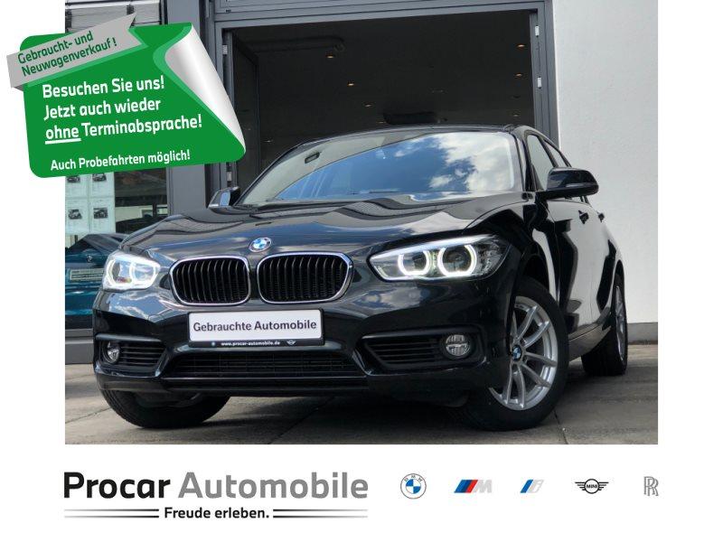 BMW 118d 5-Türer Navi Klimaaut. LED Shz Tempo., Jahr 2018, Diesel