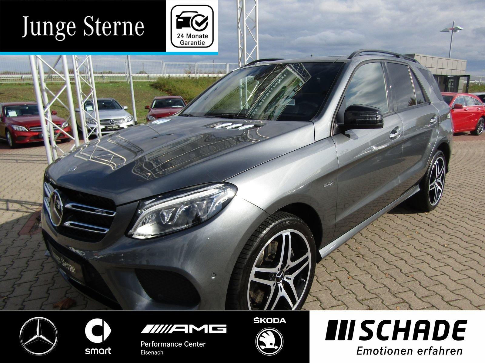 Mercedes-Benz GLE 43 AMG 4M Comand*Distronic*Night*Panorama*, Jahr 2017, petrol