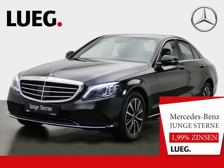 Mercedes-Benz C 200 d Exclusive+COMAND+Mbeam+FahrAss+Mem+360°+, Jahr 2019, Diesel