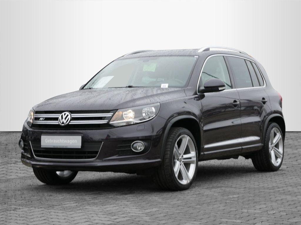 Volkswagen Tiguan 2.0TDI R-Line NAVI AHK SHZ, Jahr 2016, Diesel