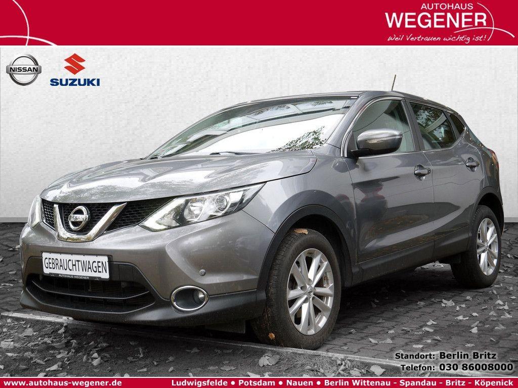 Nissan Qashqai 1.2 DIG-T Acenta 4x2 PDC SHZ 3,99% EFF*, Jahr 2014, Benzin
