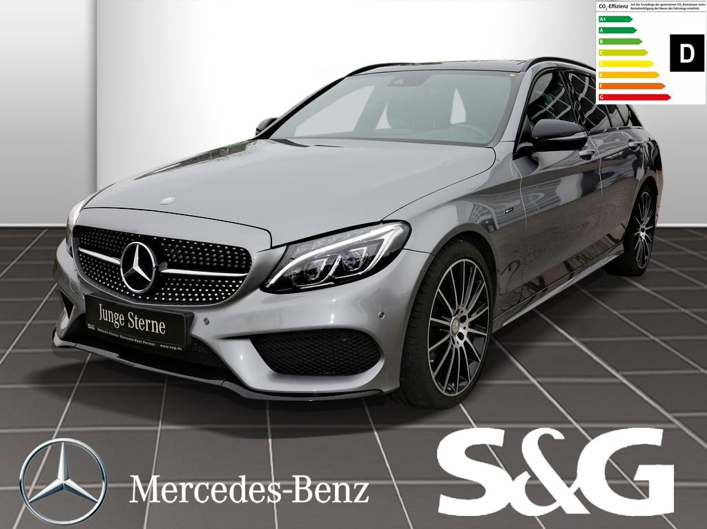 Mercedes-Benz C 450 AMG T 4M Comand Panorama Burmester Night, Jahr 2016, Benzin