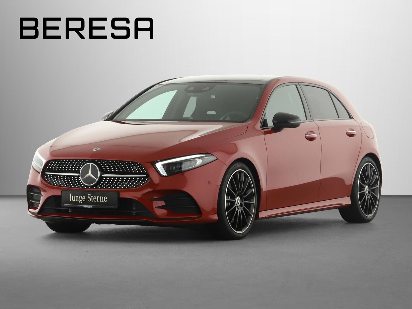 Mercedes-Benz A 250 4M AMG Sitzklima HUD Burmester Fahrassist., Jahr 2020, Benzin