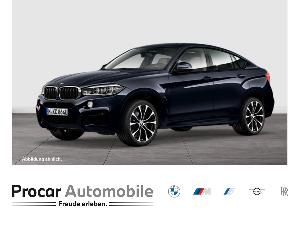 BMW X6 xDrive30d M Sport Glasd. DA+ 360° HuD H/K R, Jahr 2018, Diesel