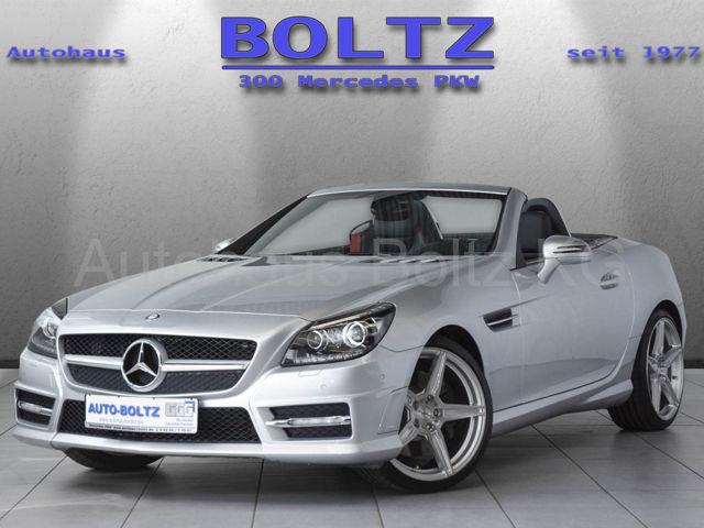 Mercedes-Benz SLK 200 BE AMG L. Navi Leder BiX ILS, Jahr 2013, Benzin