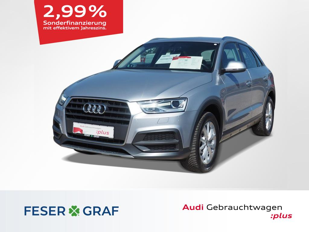 Audi Q3 Design 1.4 TFSI AHK/Navi/Komfortpaket/Alu-17`, Jahr 2017, Benzin