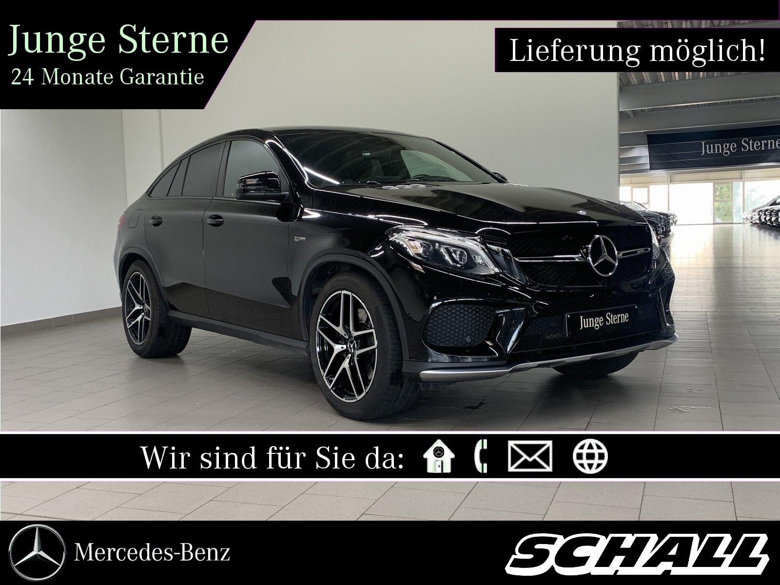 Mercedes-Benz GLE 43 AMG 4M COUPÉ PANO+AHK+LED+KAMERA+COMAND, Jahr 2017, Benzin