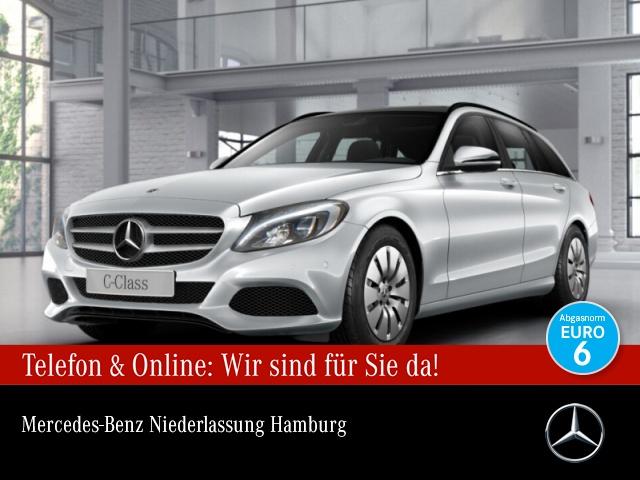 Mercedes-Benz C 200 d T Pano Burmester LED Kamera Navi PTS 9G, Jahr 2017, Diesel
