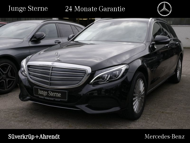 Mercedes-Benz C 400 T 4M Exclusive Comand LED Standheizung, Jahr 2016, petrol