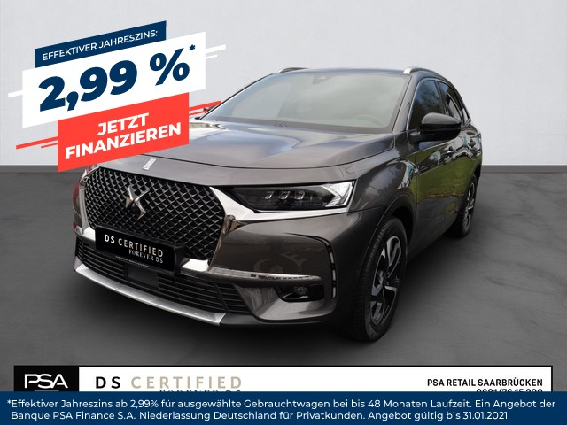 DS Automobiles DS7 Crossback BE CHIC OPERA 2,0BlueHDI180PS EAT8 Panorama, Jahr 2019, Diesel
