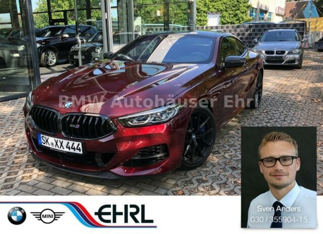 BMW M850i xDrive Laser DA+PA+ Carbonpaket Sitzbel., Jahr 2019, Benzin
