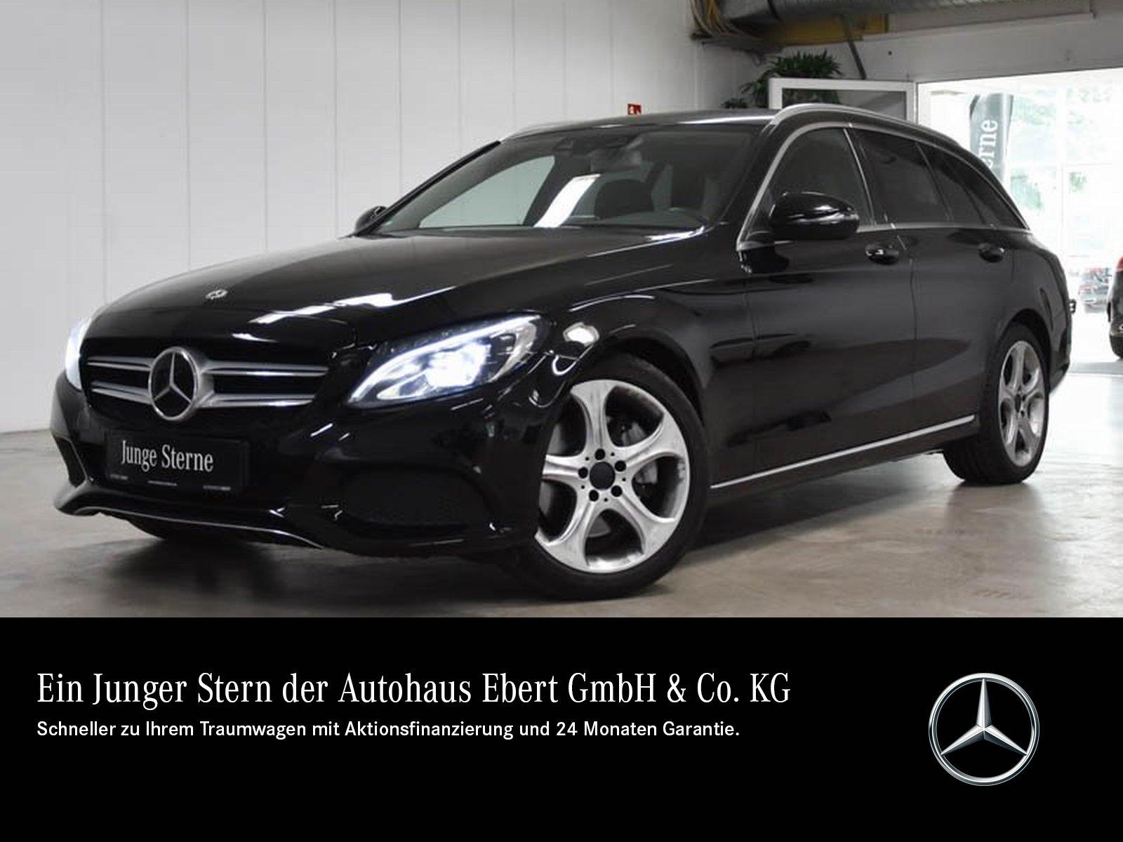 Mercedes-Benz C 300 T Avantgarde COMAND+STDHZG+RFK+AHK+LED, Jahr 2018, Benzin